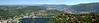 Panorama vista of Como from Brunate