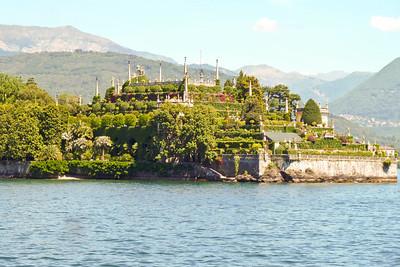 View from Stressa on Lake Maggiore