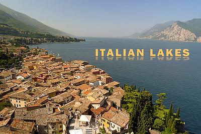 Lake Garda from Scaligero Castle