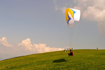 Paragliding from Monte Baldo