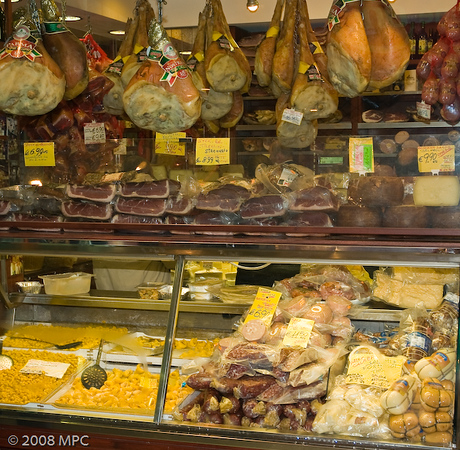 Meats and pastas of Bologna