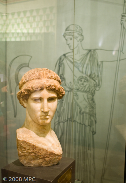 Bust of Octavia at the Museo Civico