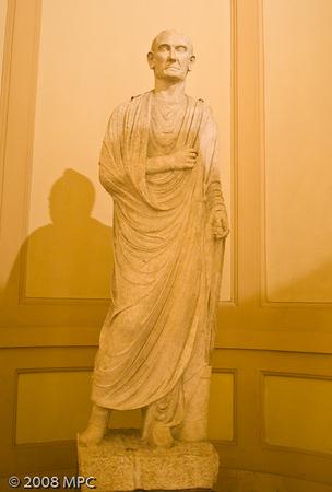 statue in the Museo Civico