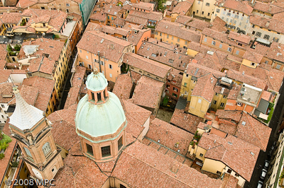 Bologna from the top of the Tower
