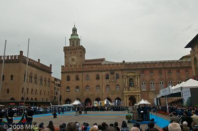 Palazzo del Commune in the Piazza Maggiore