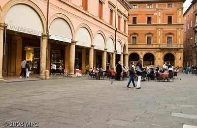 Near the Piazza Maggiore