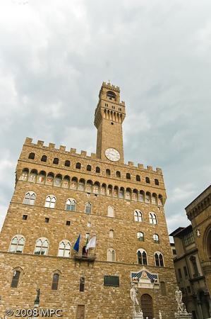 Palazzo Vecchio in Piazza della Signora