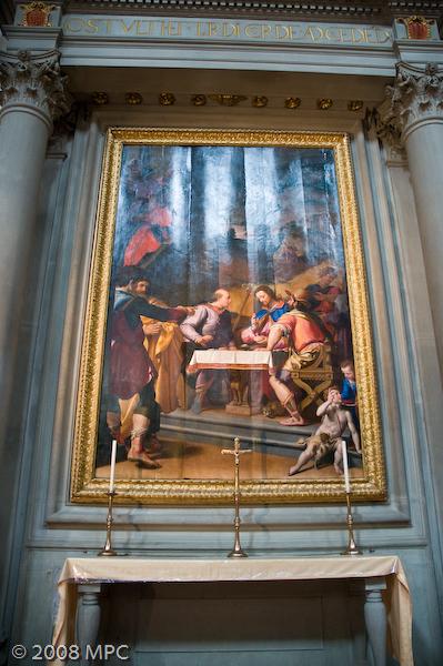 Inside Santa Croce