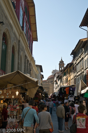 The markets in San Lorenzo