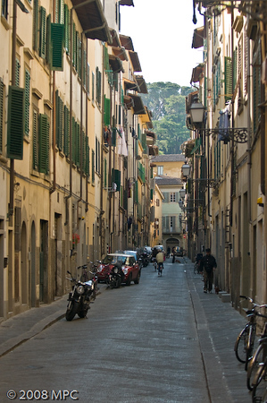 A street in Florence