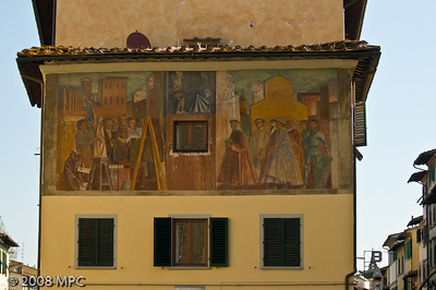 Art is everywhere in Florence