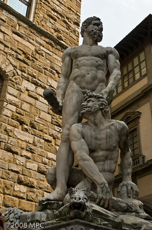 Hercules and Cacus by Baccio Bandinelli