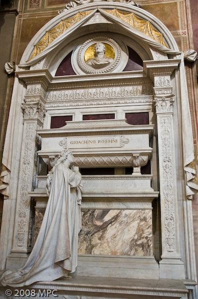 Giochino Rossini's tomb