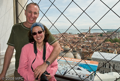 On top of Venice's Campanile - this one has an elevator!