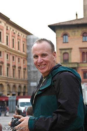 Near the Piazza Maggiore in Bologna