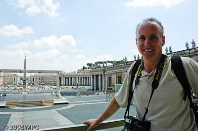St Peters Square in Vatican City