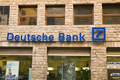 A little nostalgia....  the Deutsche Bank branch in Florence (Clare worked for them for 4 years and would still be there if they didnt sell her division)