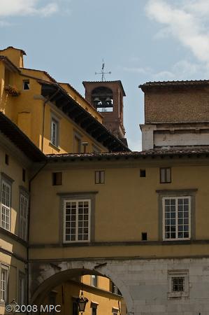 City scene, Lucca