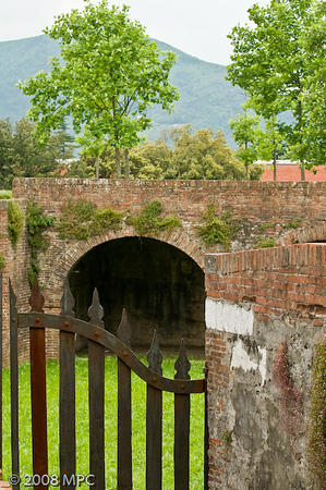 Wall surrounding the City of Lucca