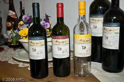 The wines of Podere Poggio Scalette