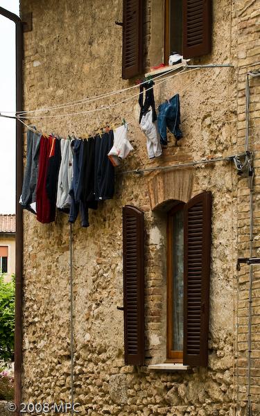 Life in San Gimignano