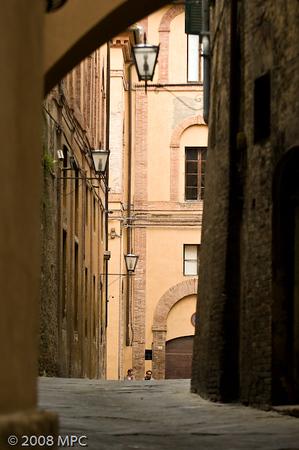 Street in Siena