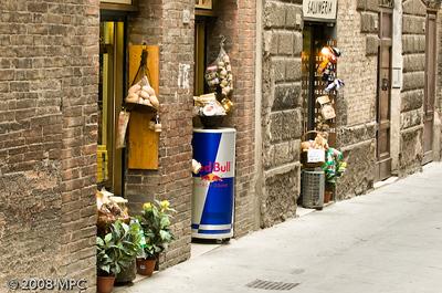 wine & cheese shop in Siena