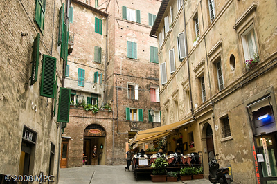 Cafe in Siena