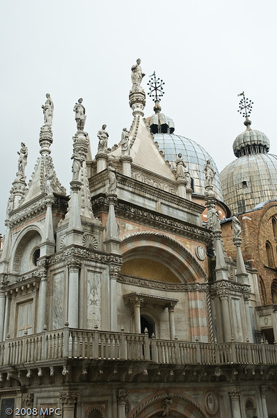 The courtyard in Doges Palace