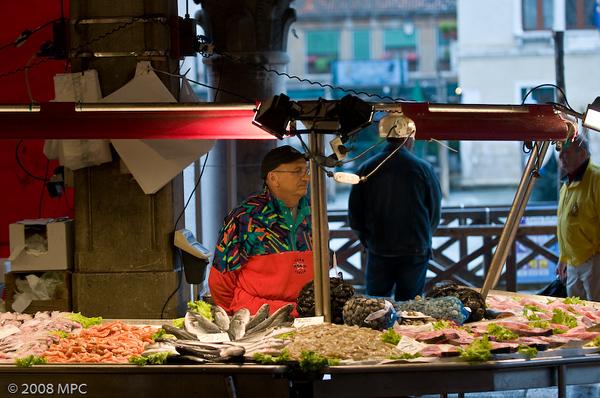 Pescheria in the Realto Market