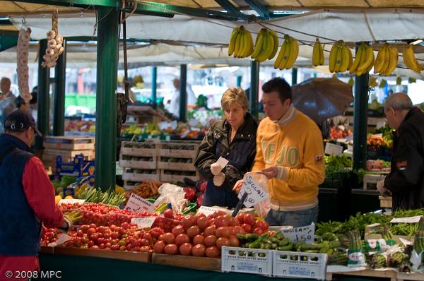 Produce in the Realto Market