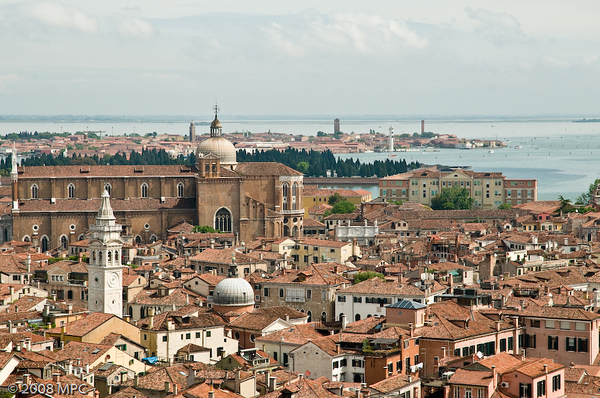 Venice from on top of St Marks Campanile