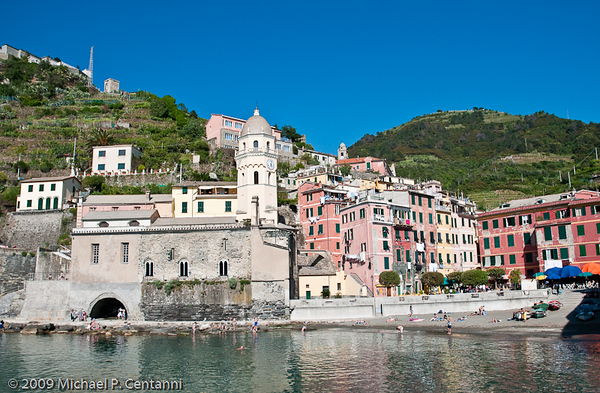 On the waterfront in Vernazza
