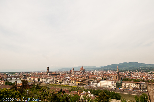 Florence from the Piazza Michelangelo