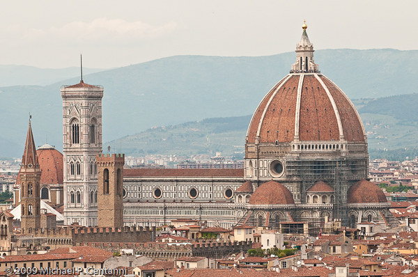 The Duomo from the Piazza Michelangelo