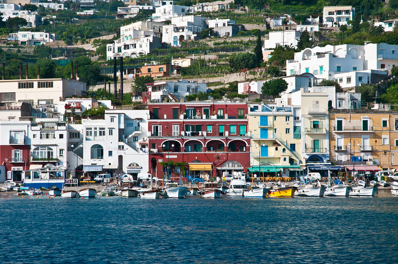 Capri waterfront