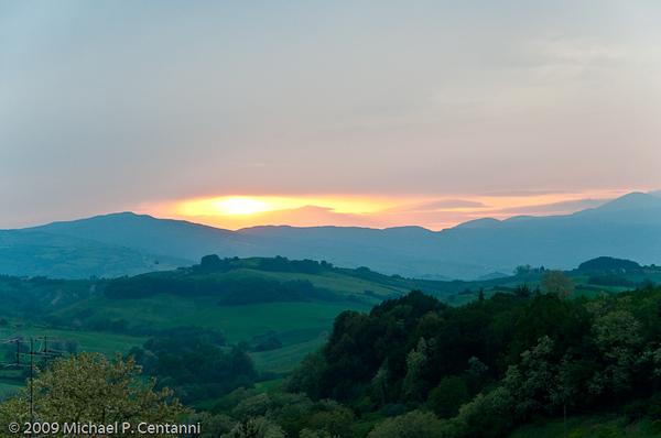 View from Castello di Proceno