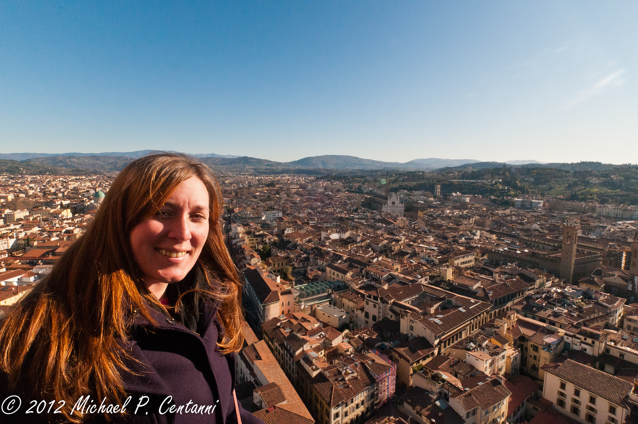 On top of the Duomo