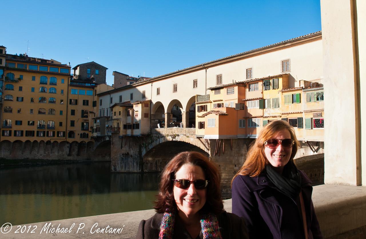 Ponte Vecchio, from Oltrarno
