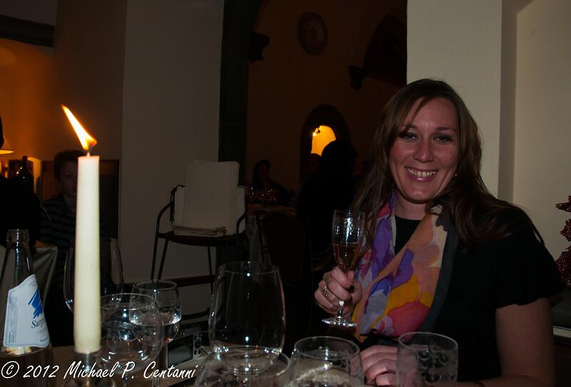 New Years Eve at Ristorante Preludio in Cortona