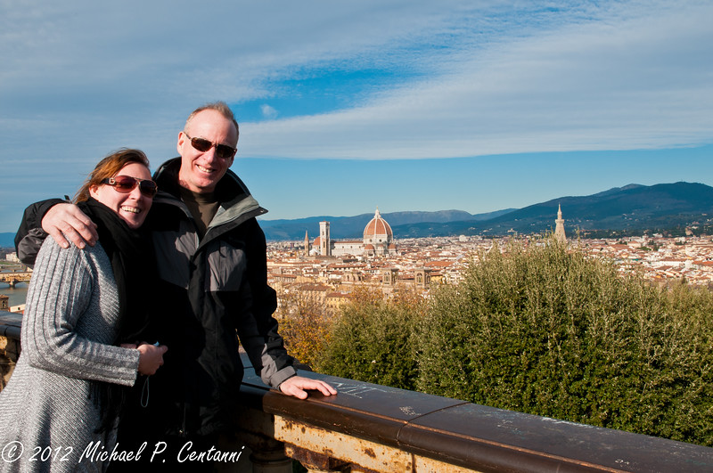 Florence, from Piazza Michelangelo