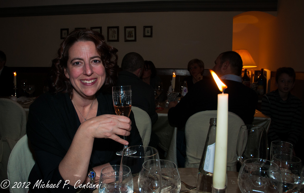 New Years Eve at Ristorante Preludio in Cortona