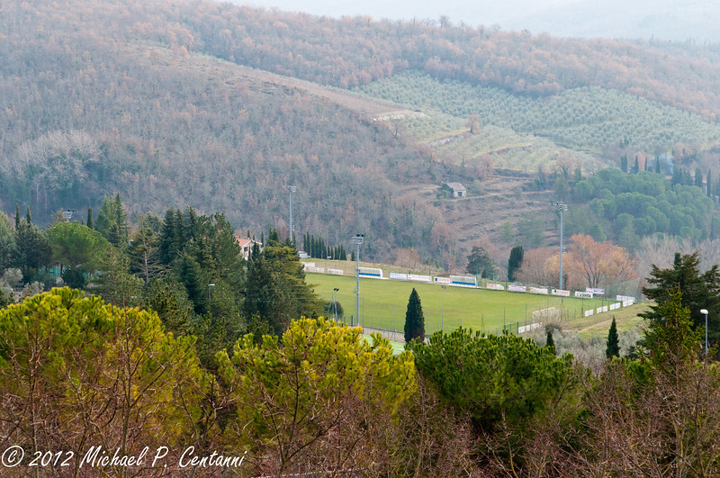 The countryside from Radda