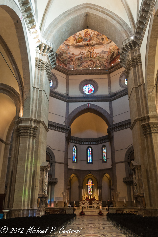 The Duomo interior