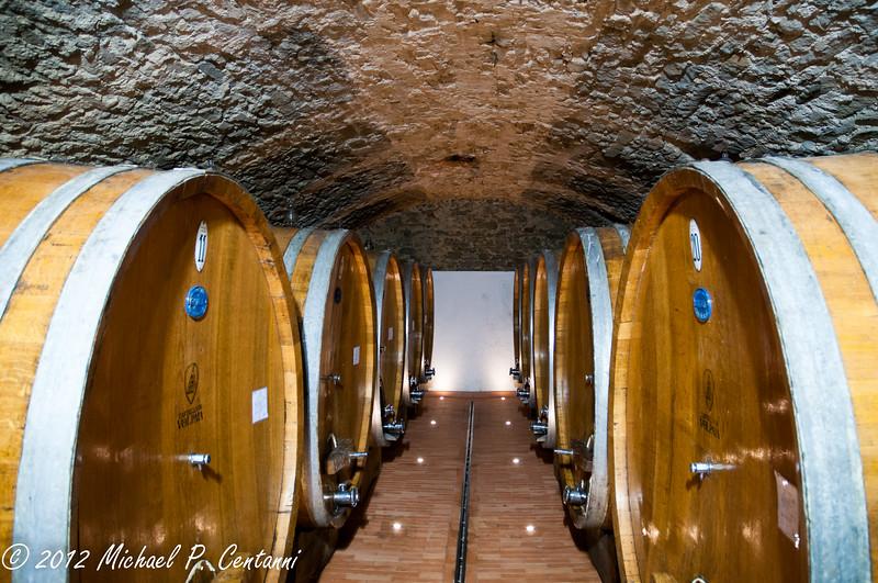 Castello di Volpaia, Radda in Chianti<br /> Wine Cave
