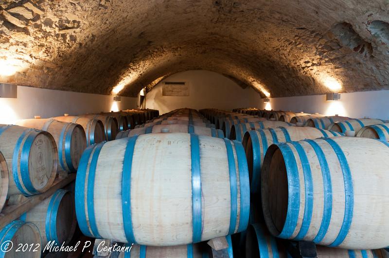 Castello di Volpaia, Radda in Chianti<br /> Wine Storage