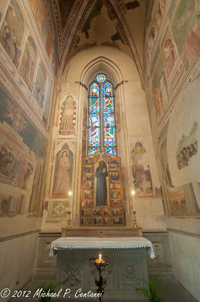 Alter to San Francesco<br /> Basilica di Santa Croce