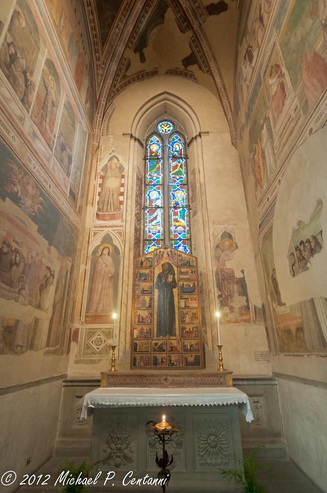 Alter to San Francesco<br /> Basilica di Santa Croce