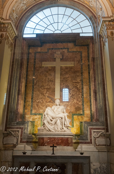 Michelangelo's Pieta<br /> St Peters Basilica, Vatican City