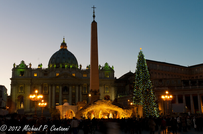 Nativity in St Peter's Square